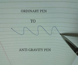 Anti Gravity Space Pen