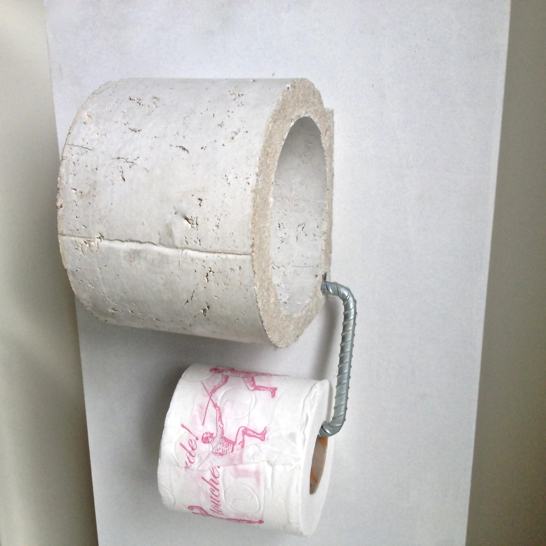 Picture of Concrete 'Tissue Holder'