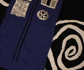 Toasty TARDIS blanket