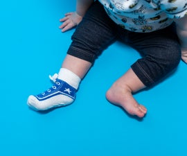Baby Gear Hack: No More Lost Socks & Cold Ankles!