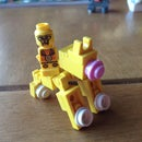 How To Make A Mini Lego Cat