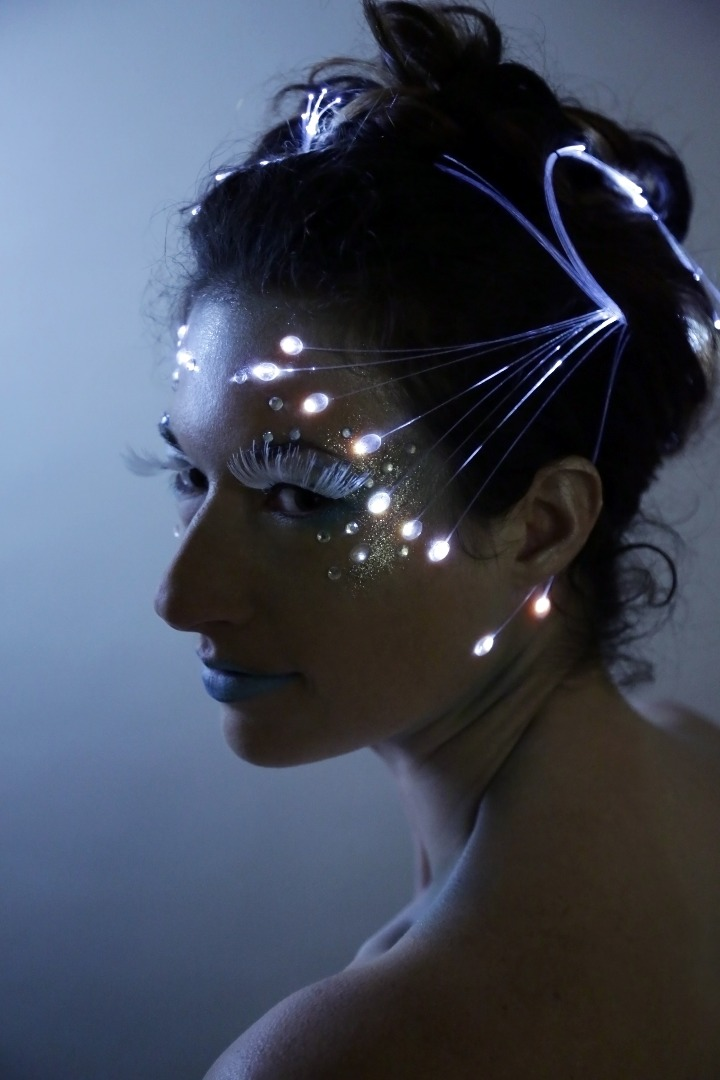 Picture of Fiber Optic Makeup