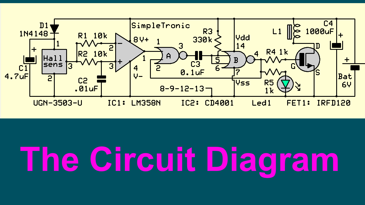 Picture of Circuit & Main Components