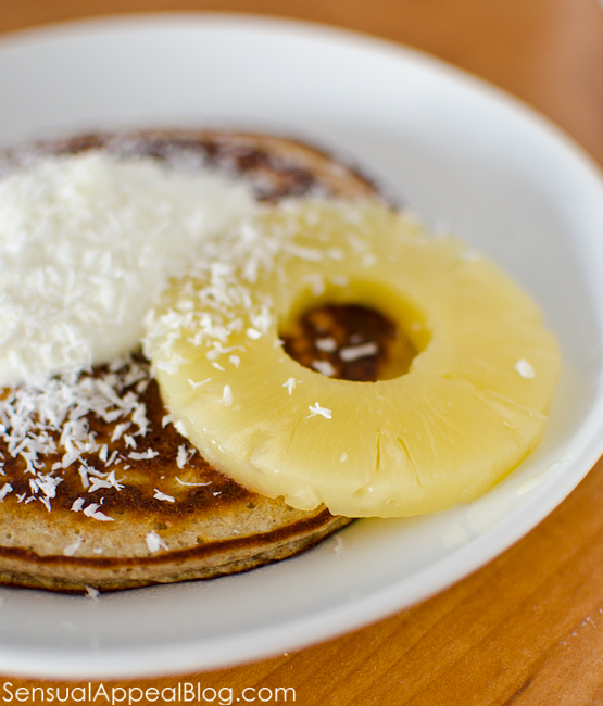 Picture of Tropical Protein Pancake