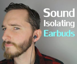 Super Effective Sound Isolating Earbuds