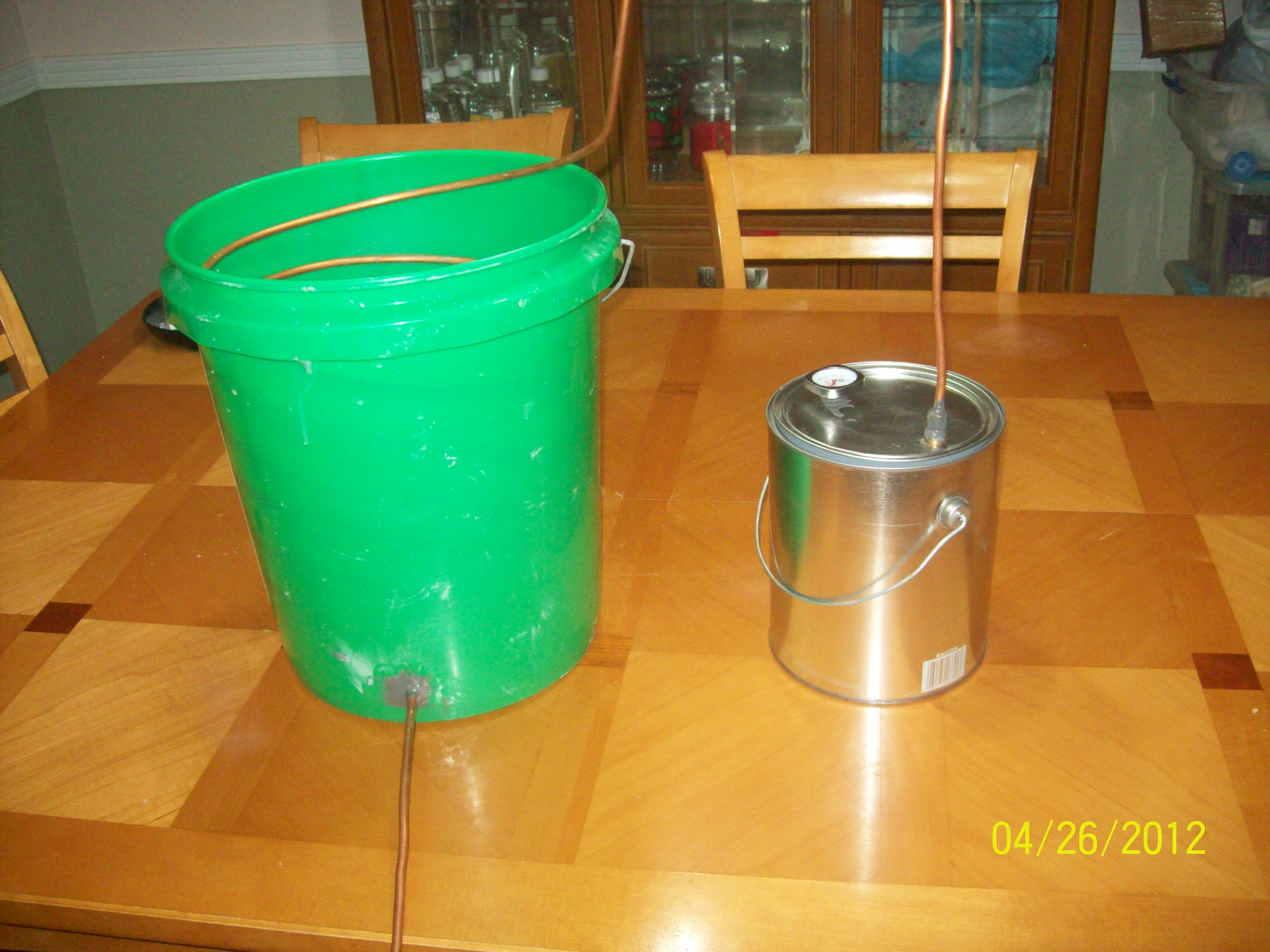 Making a Relatively Cheap Still (for Distilling Water(for