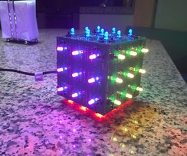 LED Rubik's Cube With Arduino