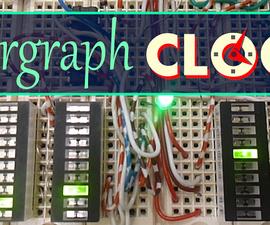 Bar-graph display Digital Clock