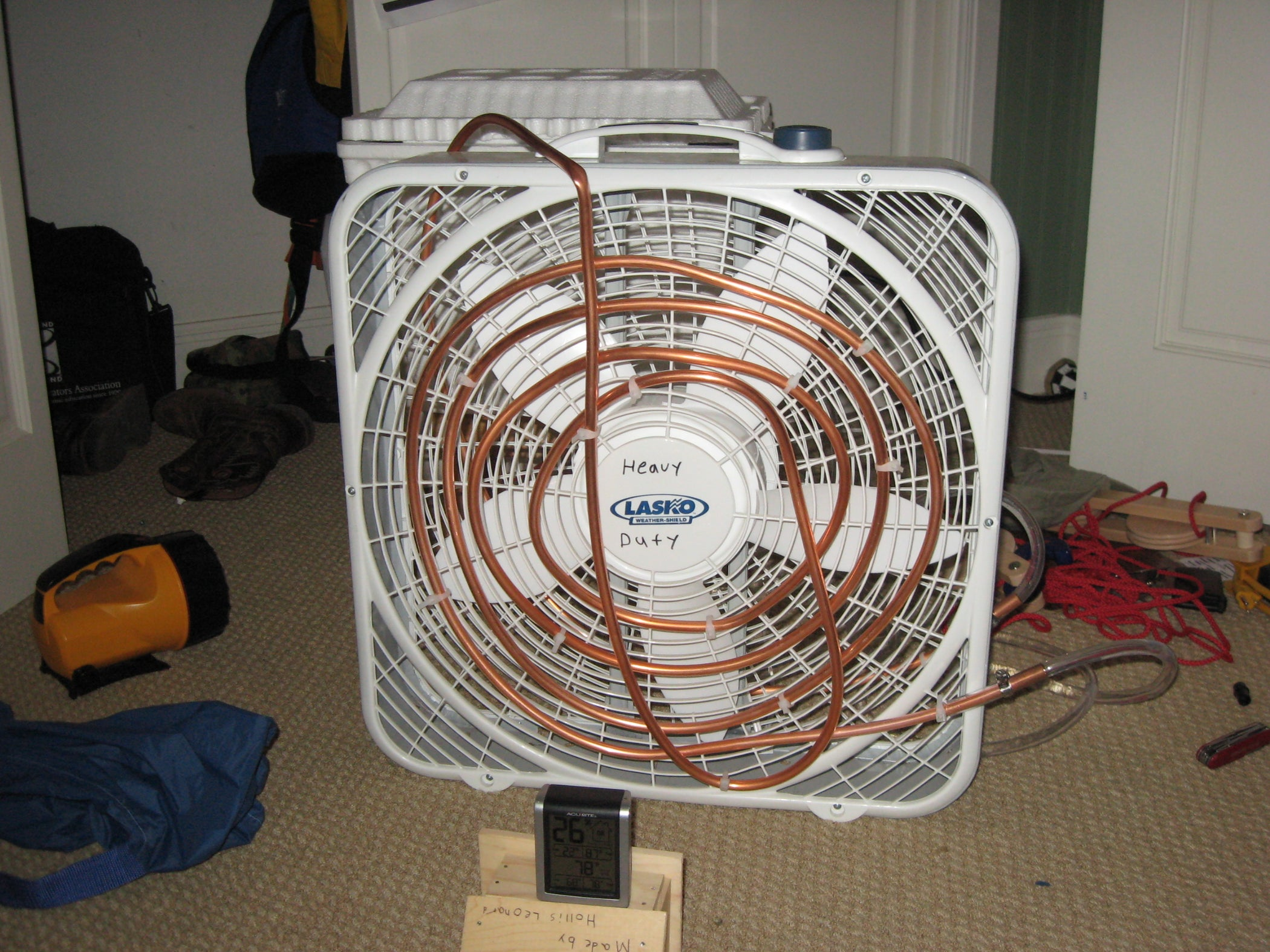 Home Made Air Conditioner I 5 Steps With Pictures Whole House Window Fan Wiring Diagram
