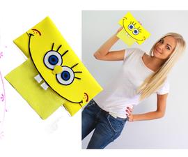 How to Make Foam Crafts / SpongeBob SquarePants Tissue Holder Tutorial for Kids