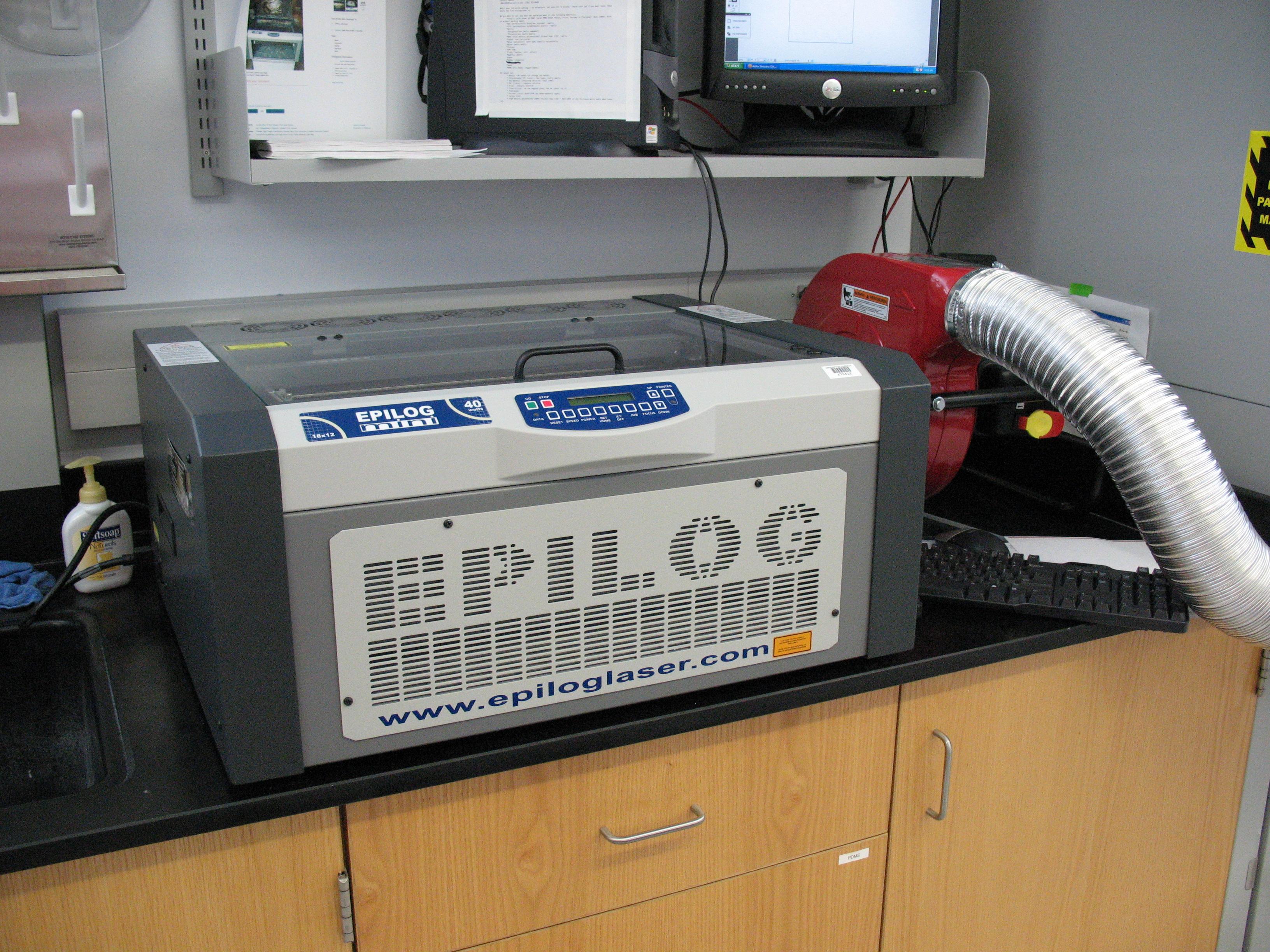 Operating the Epilog Laser Cutter: 5 Steps