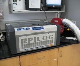 Operating the Epilog Laser Cutter