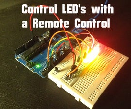 Arduino - Control LEDs with a Remote Control