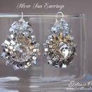 Beaded earrings - Half tila earrings - Jewerly making tutorial