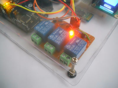 Controlling the Home Automation System