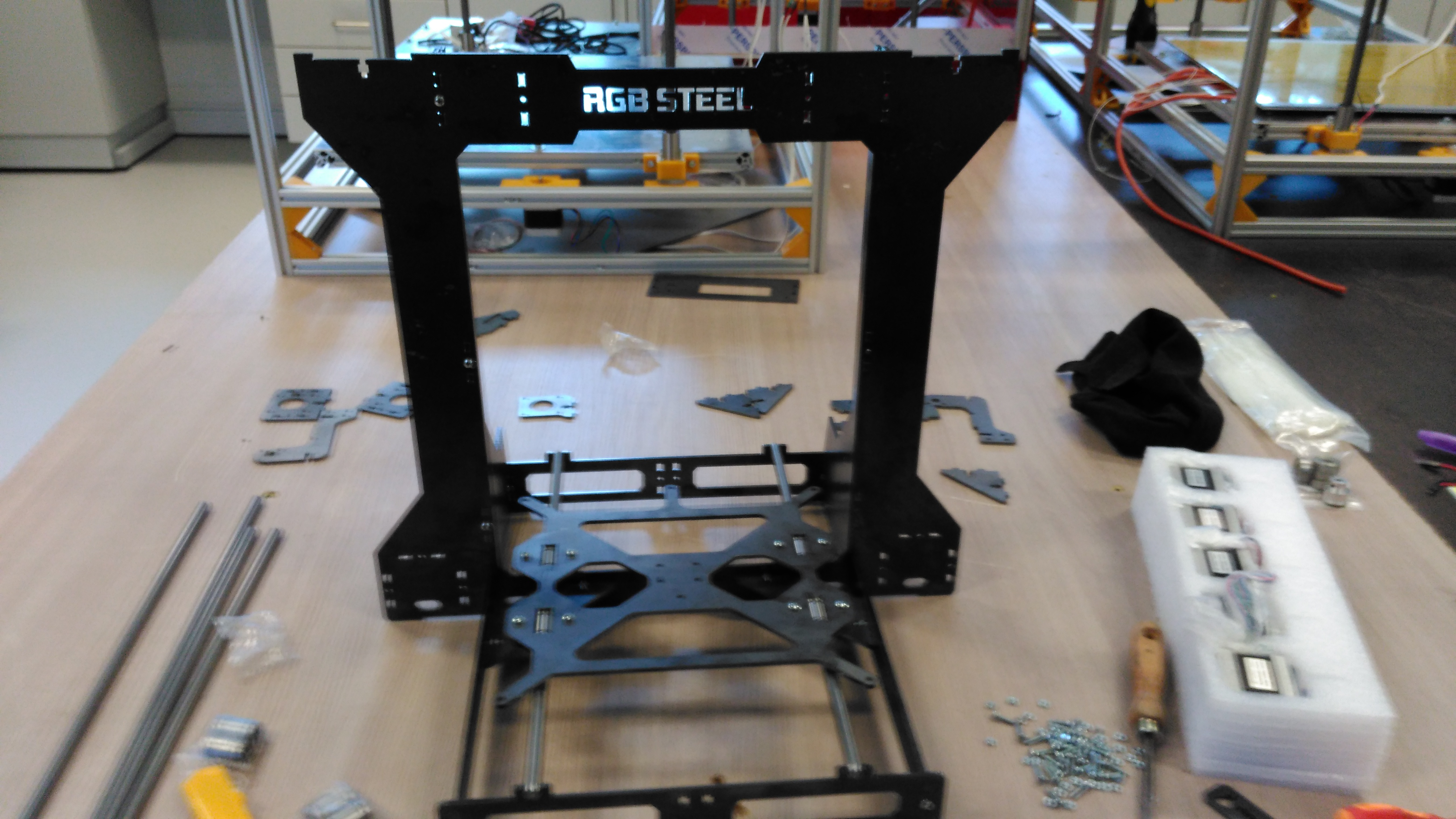 Picture of Y Axis Assembly