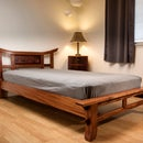 Cherry Blossom Inlay Bed