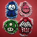 How to construct and craft polymer clay cartoon-style brooches