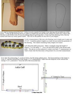 Creating Your Own Custom Sweater Slipper Pattern