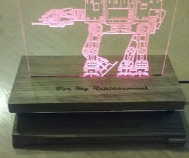 Starwars LED Nameplate