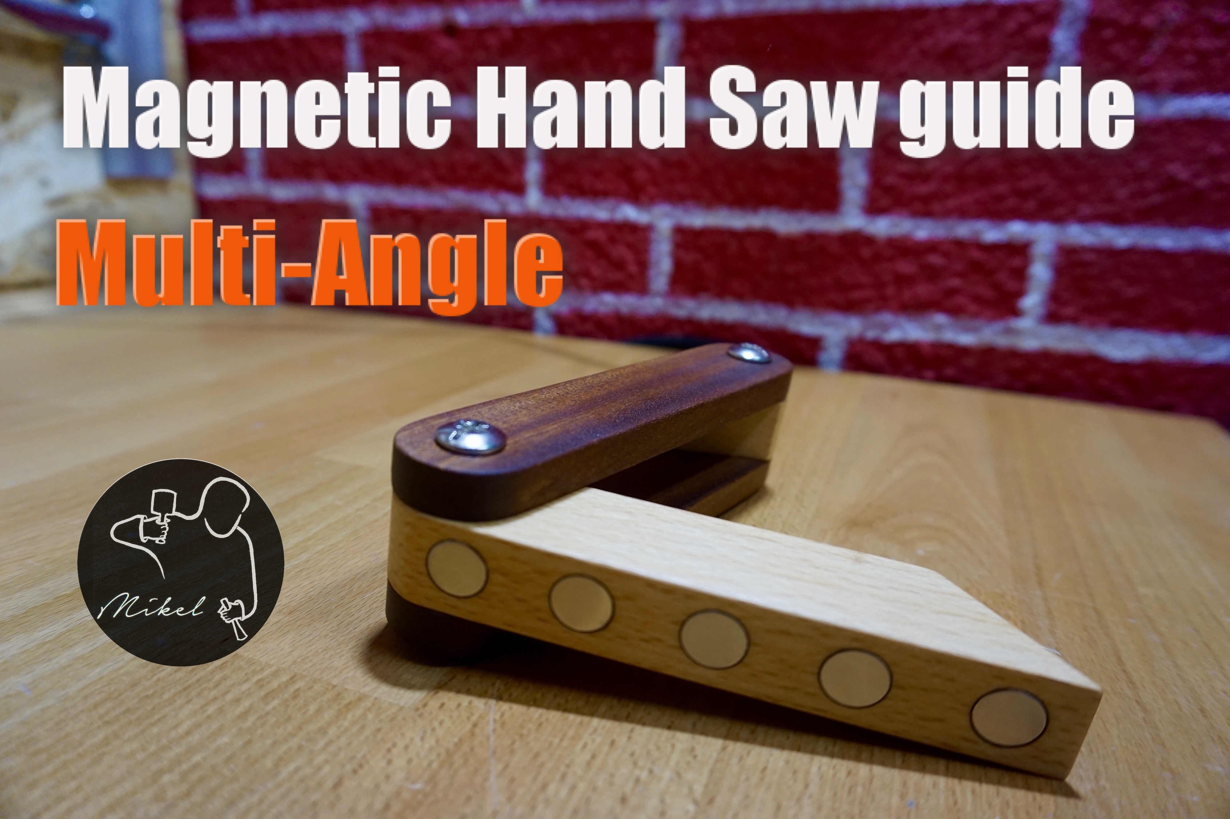Picture of Multi-Angle Magnetic Hand Saw Guide