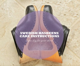 Swedish Hasbeens Care Instructions