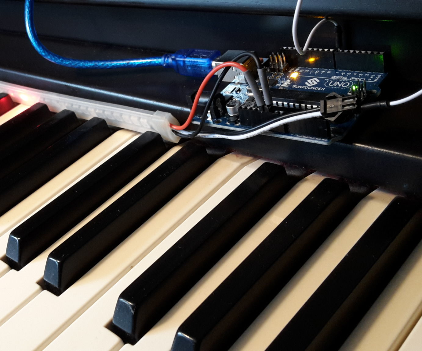 MuseScore+Arduino+LEDs+MIDI = Piano Tutor: 5 Steps (with Pictures)