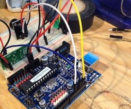 Simple Arduino Wireless Burglar Alarm