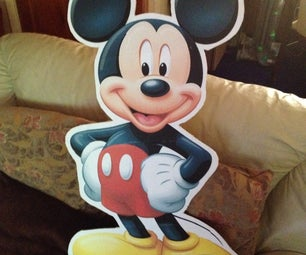 Mickey Mouse Lifesize Cut Out