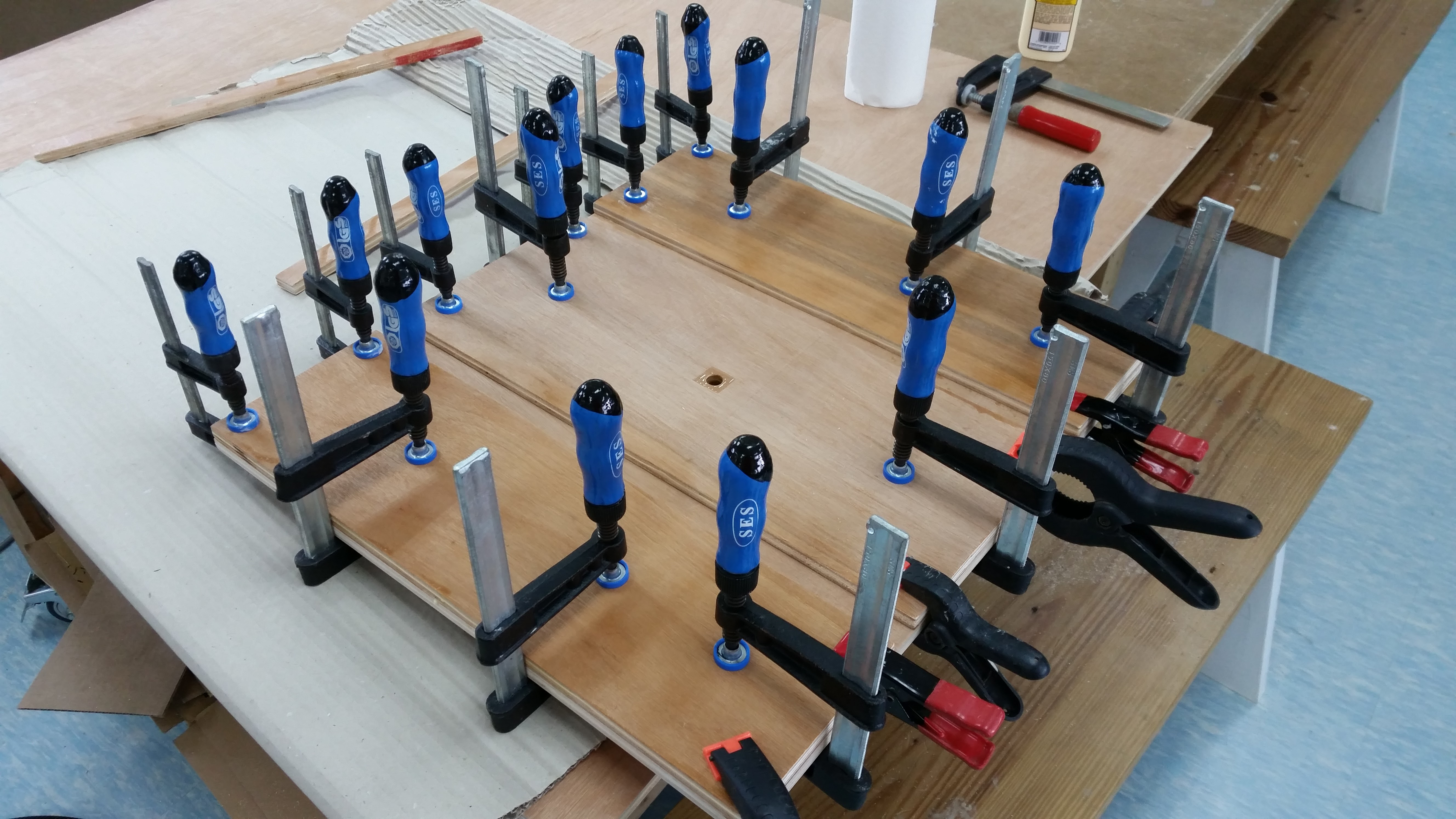 Picture of Glue and Clamps