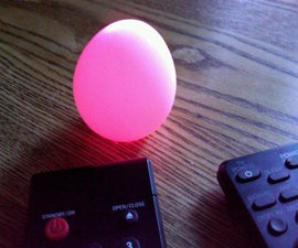 This Remote Control Easter Egg has 16,581,375 colors.