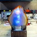 Color-Shifting Crystal Lamp