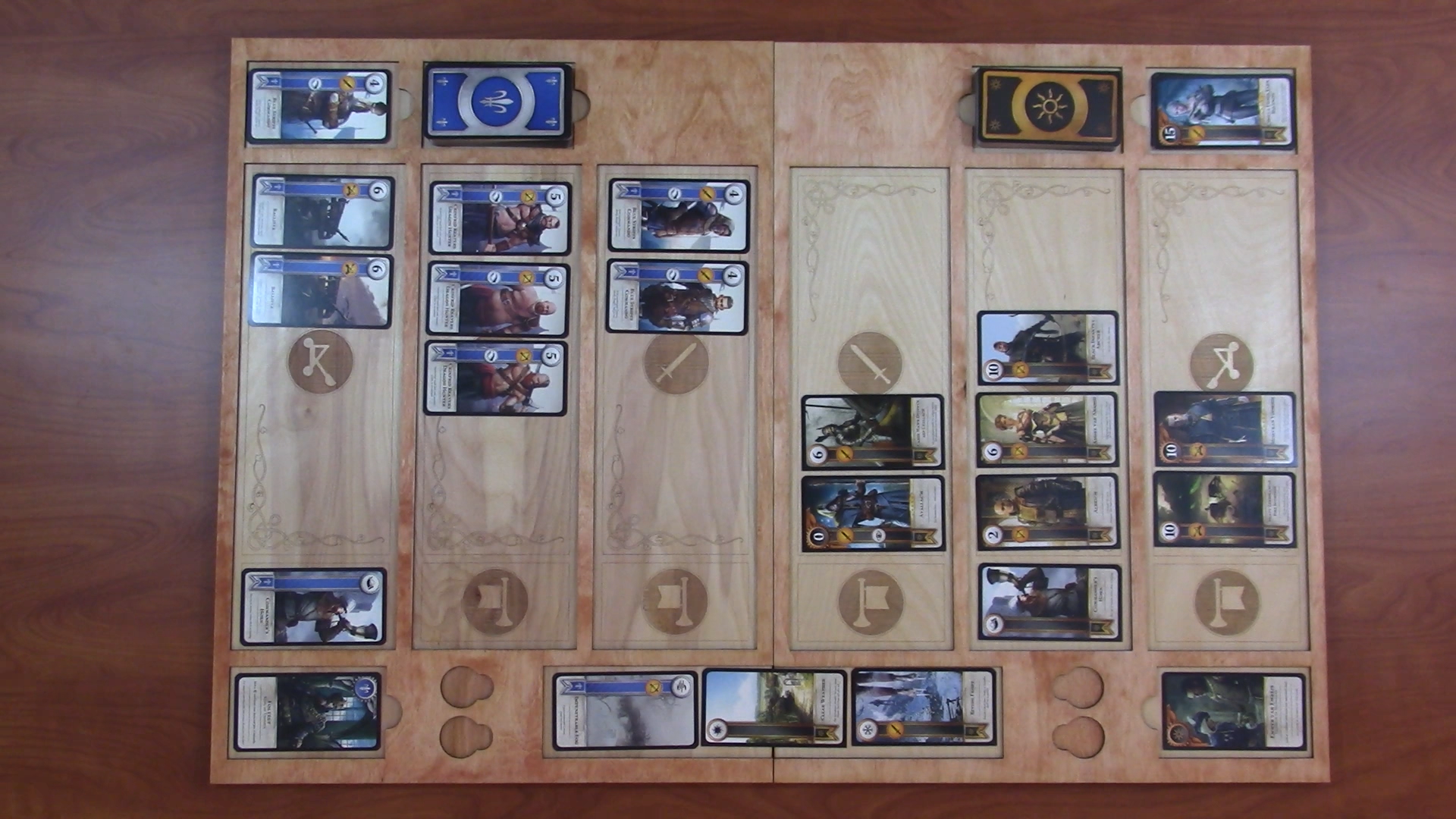 Picture of Enjoy Your Custom Gwent Board!