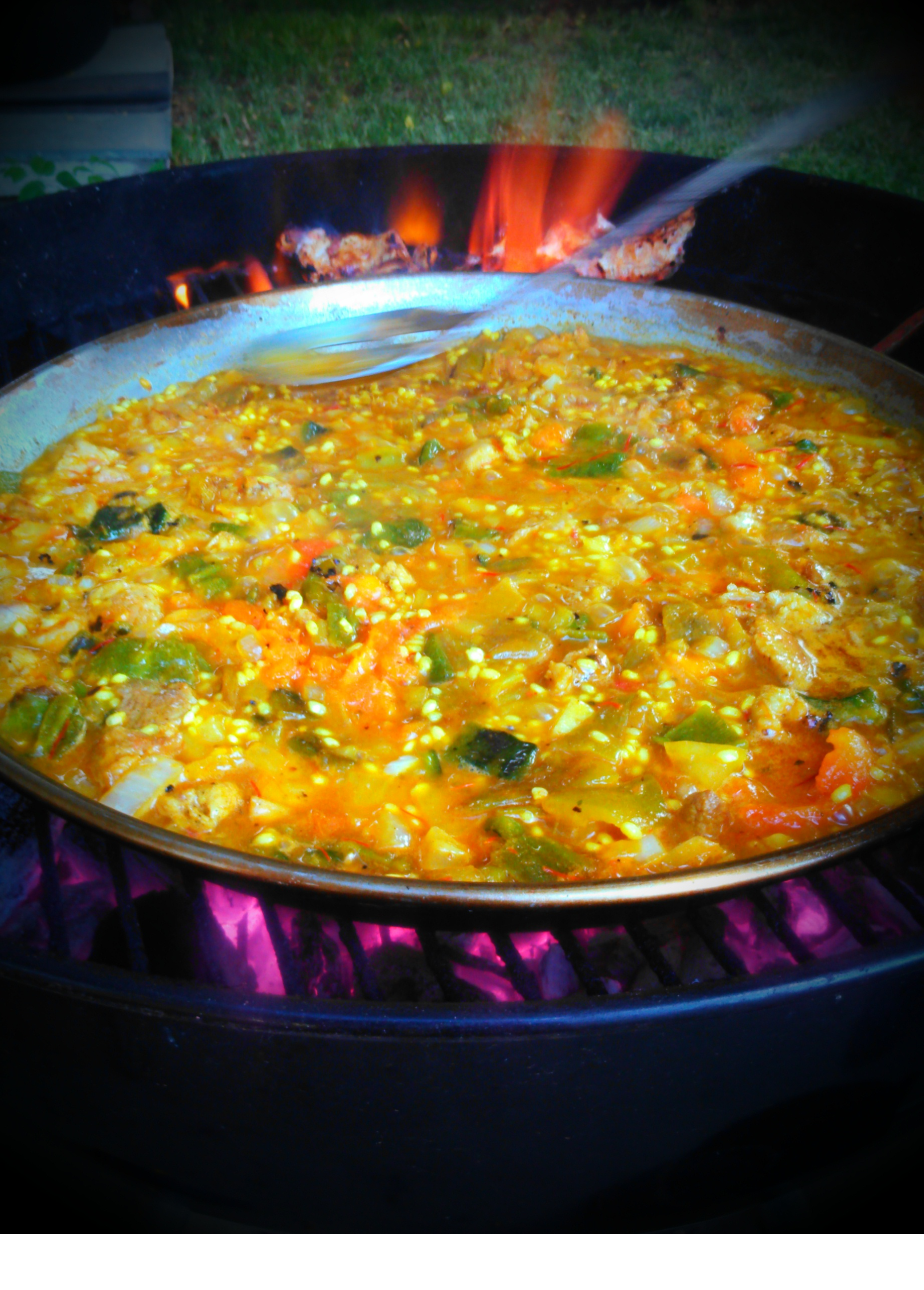 Picture of Paella on the Barbecue