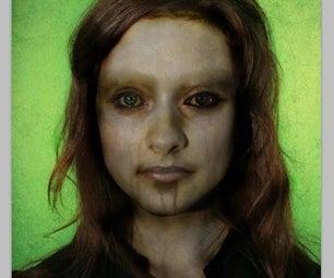 Halloween Photo Manipulation: Make the Beautiful Depraved