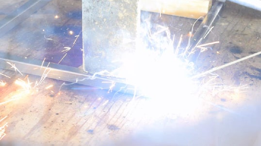 Cutting & Welding the Steel
