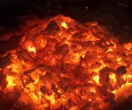 Burning Embers Halloween Prop