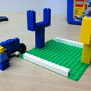 Lego Instructable: Football side-line painting