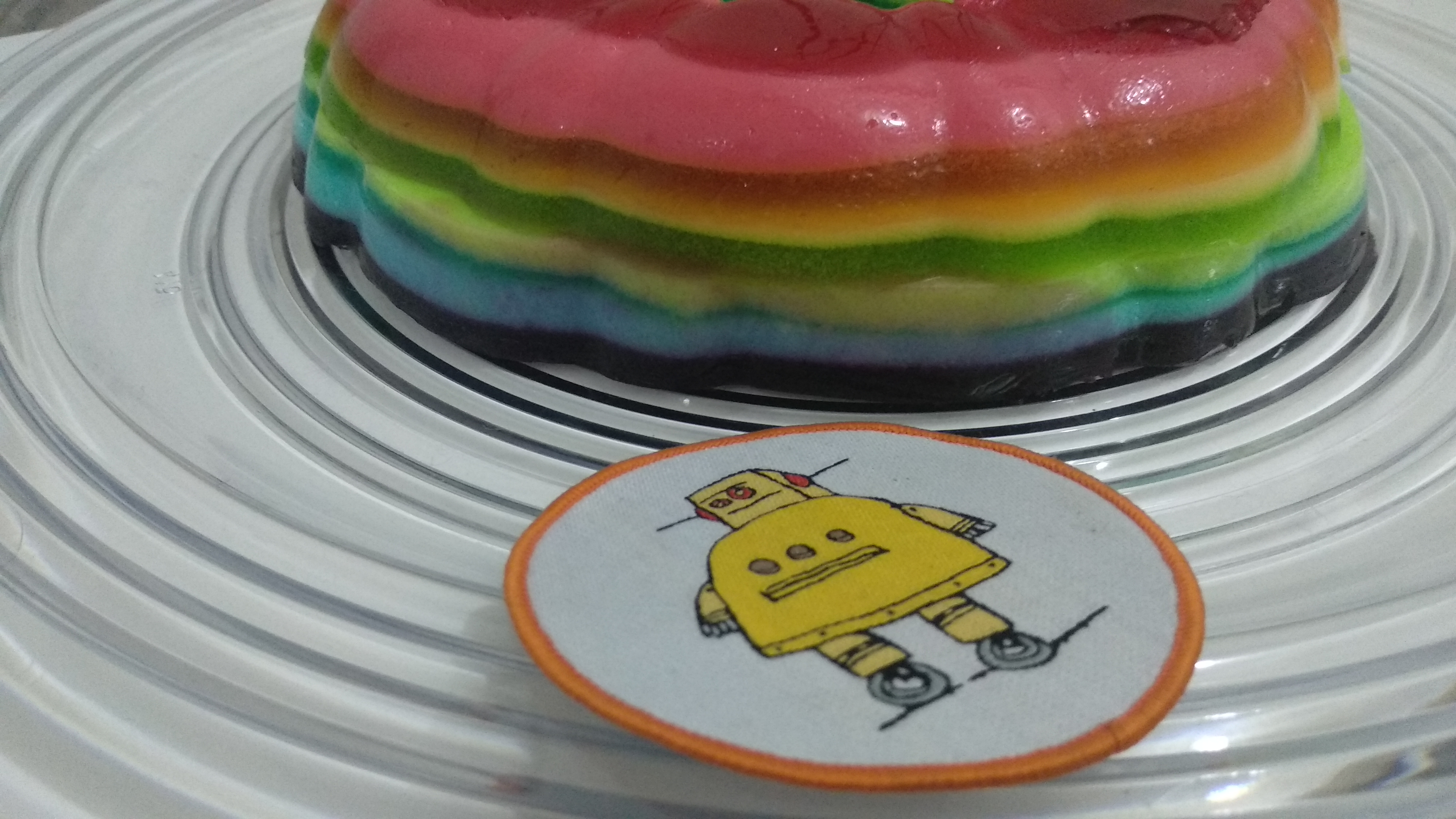 Picture of Rainbow Jell-o (multi Flavoured)