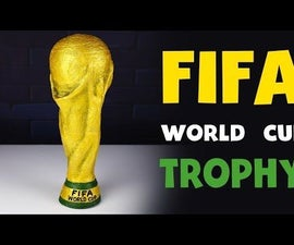 How to Make FIFA WORLD Cup Trophy 2018 From Cardboard DIY at HOME