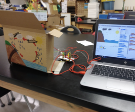 Interactive Posters With Scratch & Makey Makey