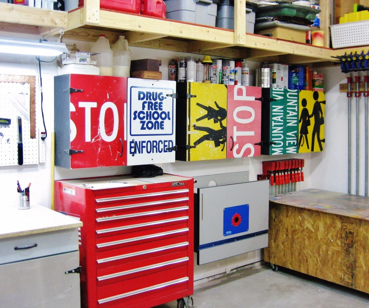 Easy Workshop Cabinets 8 Steps With Pictures