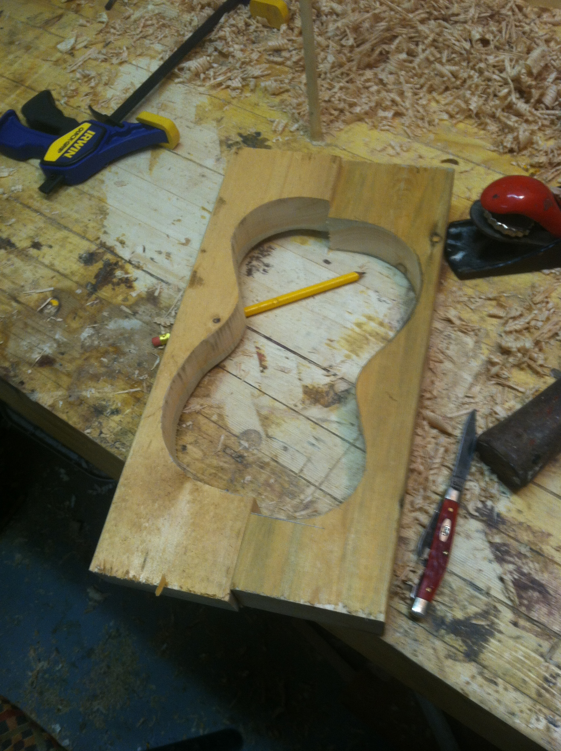 Picture of Making a Form (mold)