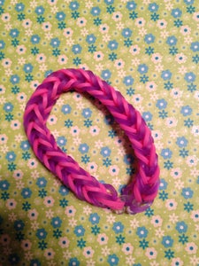 Fishtail- Purple and Pink