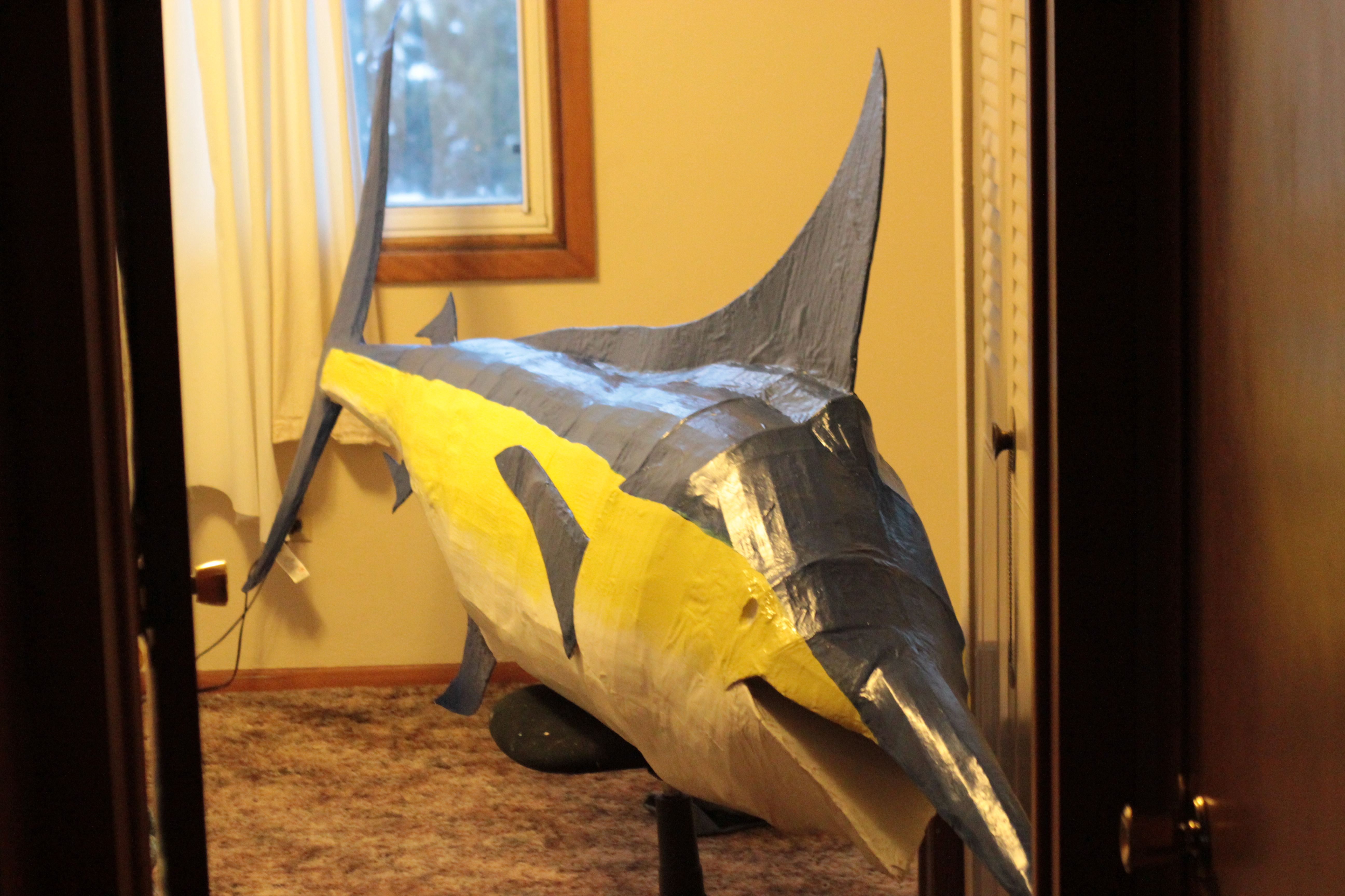 Picture of HOW TO BUILD YOUR OWN GIANT BLUE MARLIN ON THE CHEAP