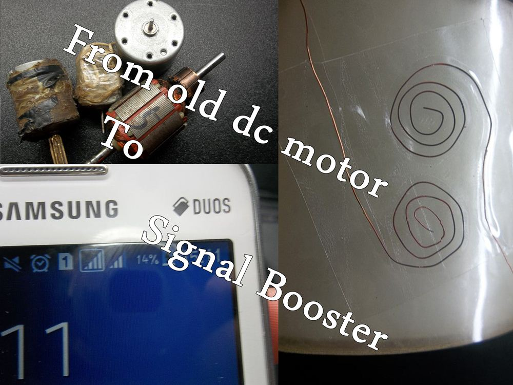 Picture of From Old Motors Into Signal Booster