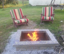 Build An Ultimate Outdoor FirePit Complete With Custom Cap Stone: The ManPit