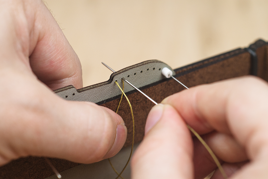 Picture of Saddle Stitching - This Side Second and on Top