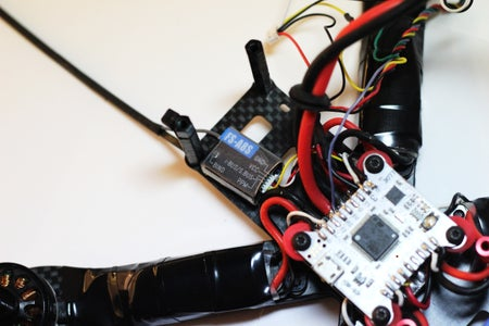 Mount All the Things: Receiver, Transmitter, and Camera