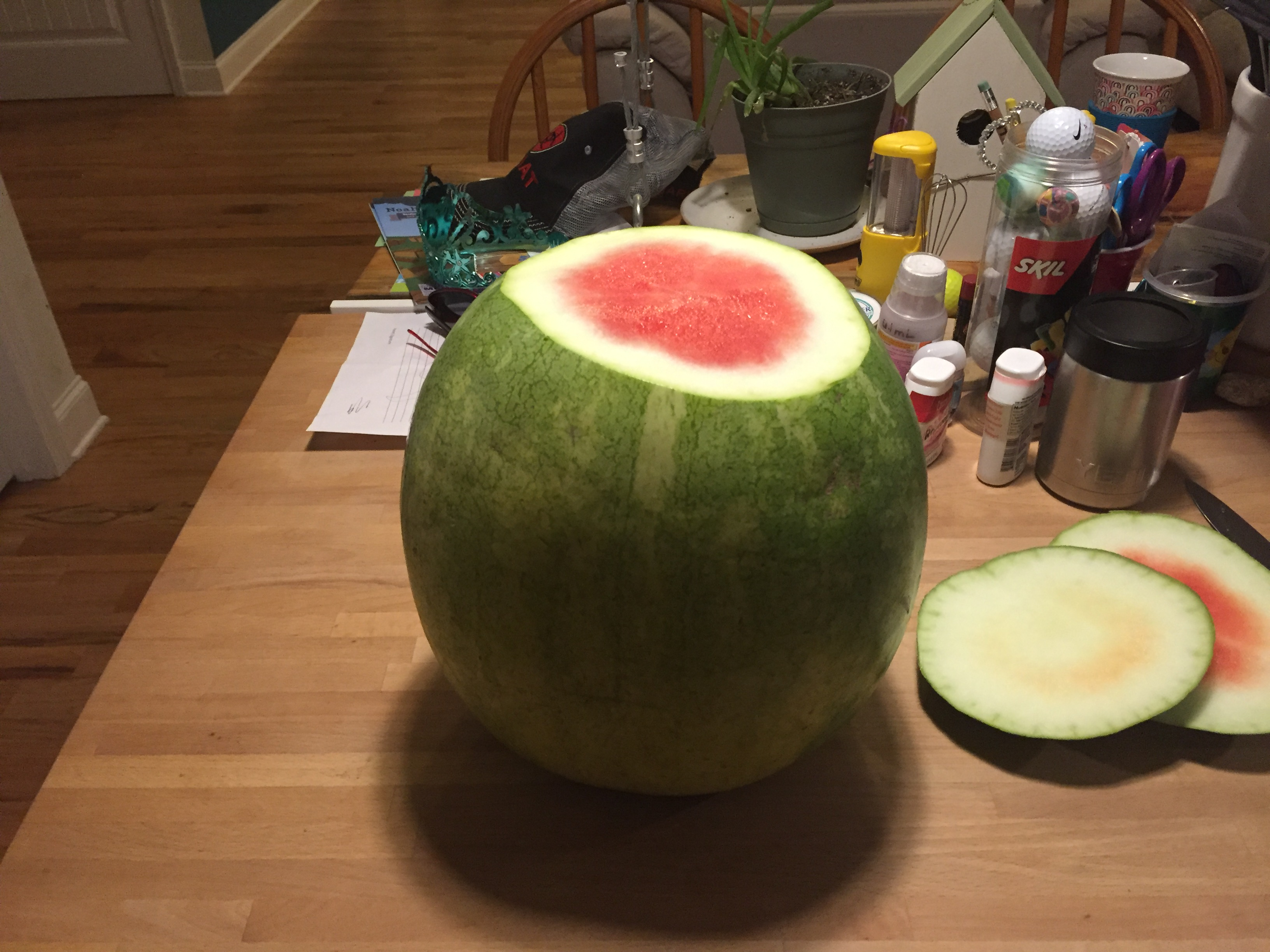 Picture of Peeled Watermelon